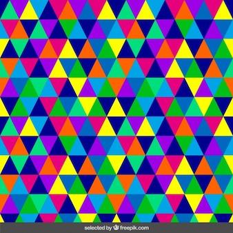 Motif triangulaire homogène