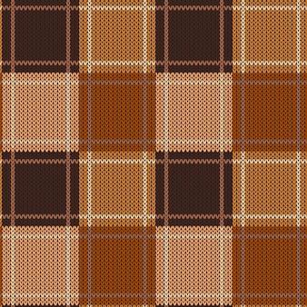 Motif tricoté abstrait géométrique.