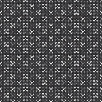 Motif tricoté abstrait.