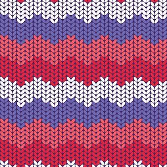 Motif tricoté sans couture.