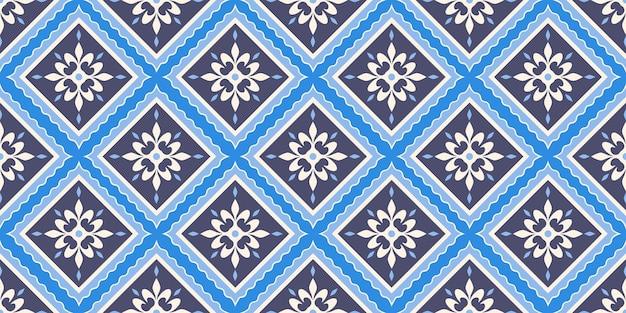 Motif de tuile géométrique arabe sans soudure
