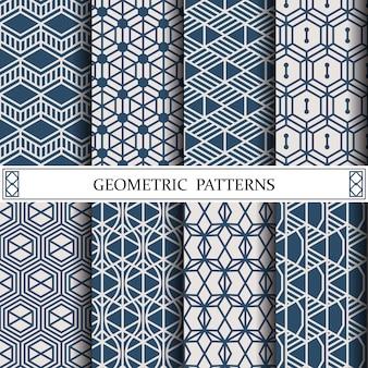 Motif de vecteur géométrique