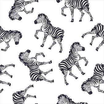 Motif zébré, imprimé safari pour enfant