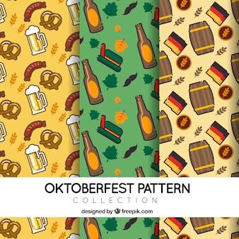 Motifs allemands pour oktoberfest