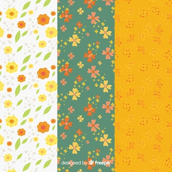 Motifs floraux de printemps