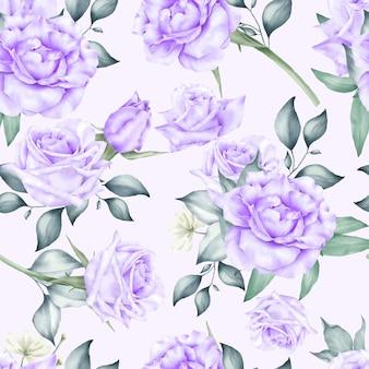 Motifs floraux sans soudure