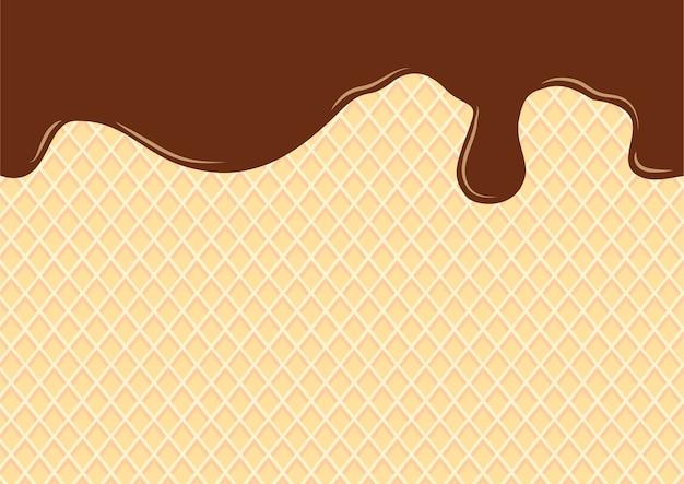 Motifs de gaufres sans soudure