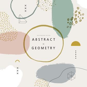 Motifs géométriques pour webdesign. illustration.