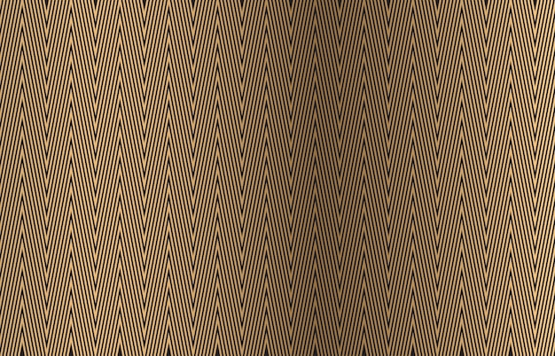 Motifs géométriques sans soudure. abstrait de lignes dorées.