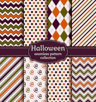 Motifs géométriques sans soudure d'halloween.