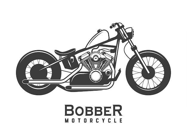 Moto. bobber. vélo personnalisé.
