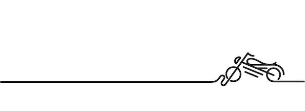 Moto icône vecteur ligne art design illustration vectorielle