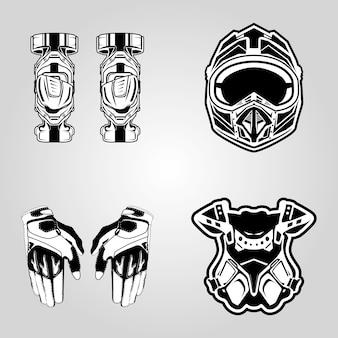 Motocross de sécurité