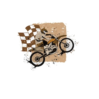 Motocross sport extrême