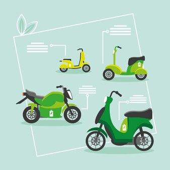 Motos électriques écologiques