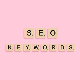 Mots-clés d'optimisation des moteurs de recherche seo