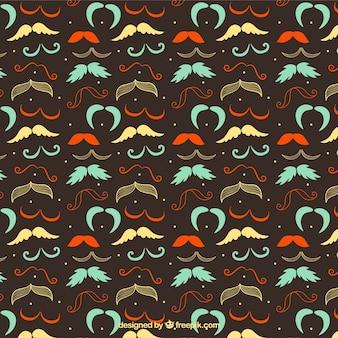 Moustaches motif