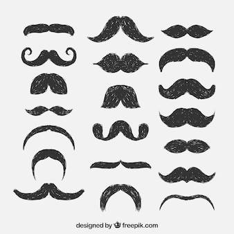Moustaches sketchy