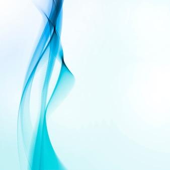 Mouvement abstrait bleu lisse