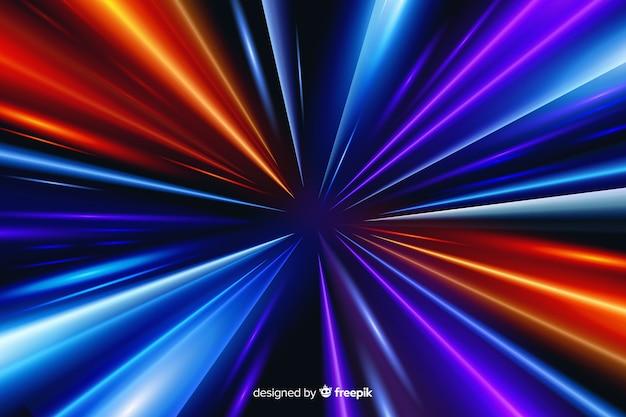 Mouvement abstrait léger