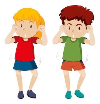 Mouvement de danse shmoney enfants