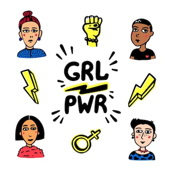 Mouvement du pouvoir des filles