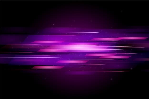 Mouvement de lumière abstrait de fond