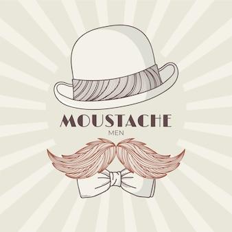Movember au style vintage