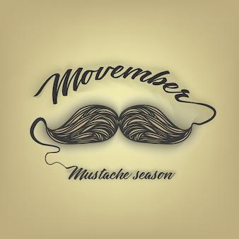 Movember hommes moustache