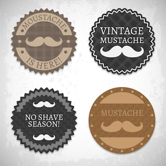 Movember insignes collection