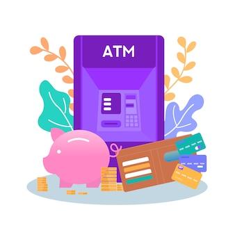 Moyens d'économiser de l'argent stockage obtenir de l'argent bannière