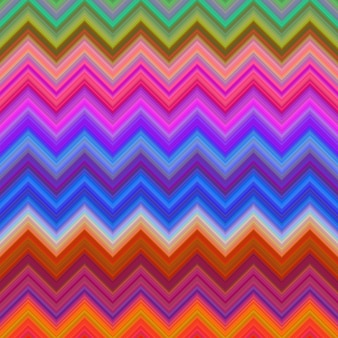 Multicolor zig zag backround