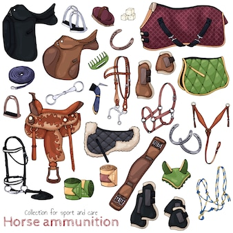 Munitions de cheval