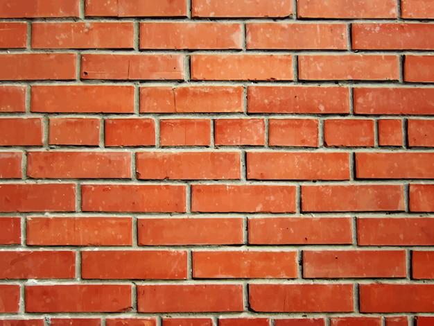Mur de brique réaliste
