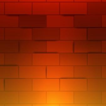 Mur de brique rouge clair. contexte.