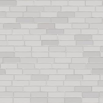 Mur de briques blanc fond