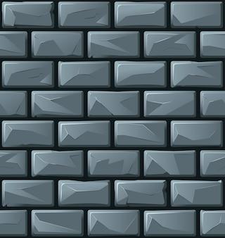 Mur de briques de dessin animé.