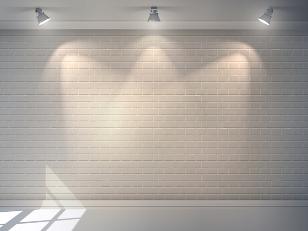 Mur de briques réaliste