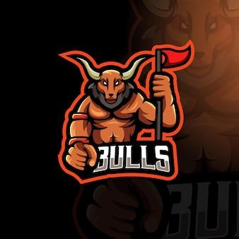 Muscle bull pour le jeu ou l'équipe
