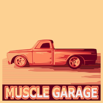 Muscle pickup voiture
