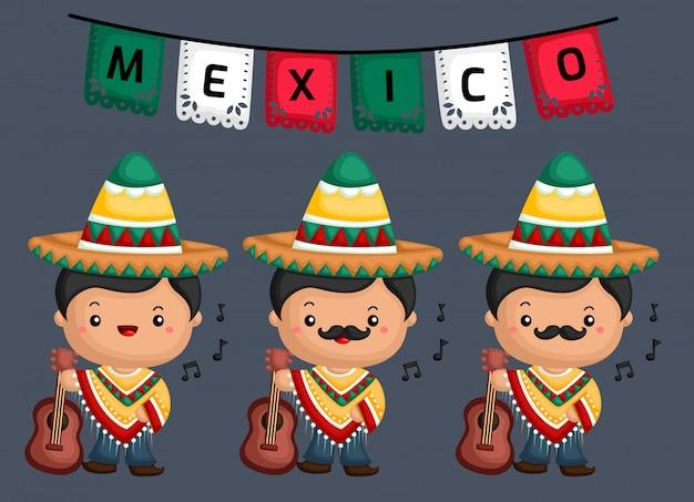 Musicien mexicain