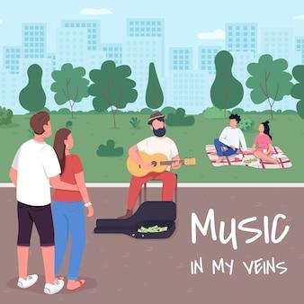De la musique dans mes veines.