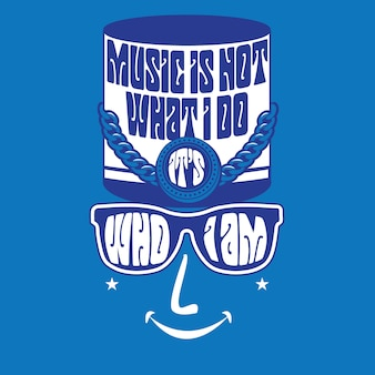 La musique n'est pas ce que je fais - c'est qui je suis