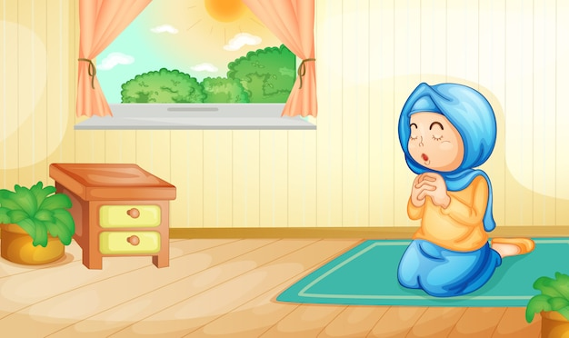 Musulman en prière