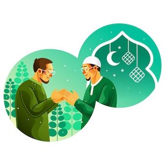 Les musulmans se pardonnent à l'aïd mubarak