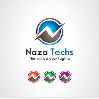 N lettre logo
