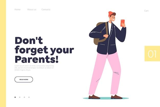 N'oubliez pas le concept de vos parents