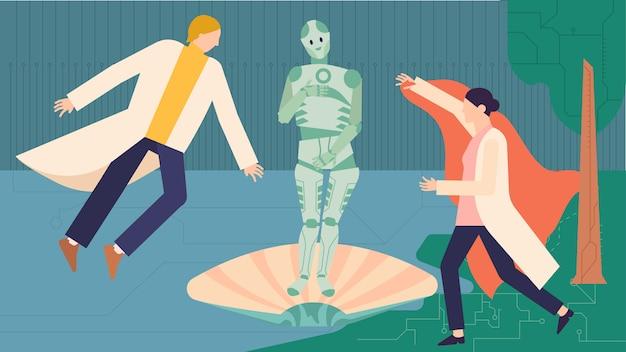 La naissance du concept de robot