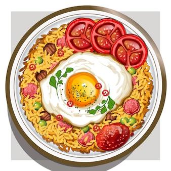 Nasi goreng (riz frit)