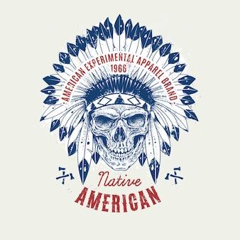 Natif de fond américain
